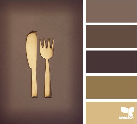 color utensil: Bronze Color Palettes, Design Seeds, Color Utensils, Chocolates Brown, Bedrooms Colour Palettes, Paintings Color Ideas Brown, Dark Brown Color Palettes, Palettes Bronze Gold Colour, Brown And Gold Bedrooms