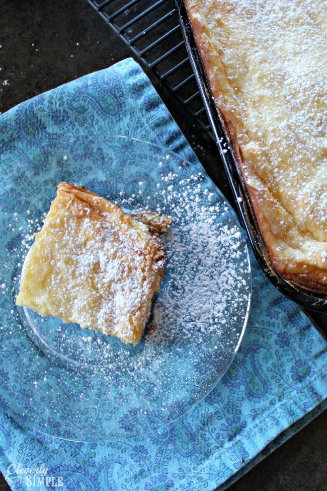 Gluten Free Gooey Butter Cake Recipe Without Mixer