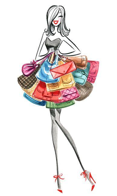 Marilena Perilli Illustration / Animals Wildlife Natural History, Fashion Glamour, Childrens Young Adult, / USA on imgfave