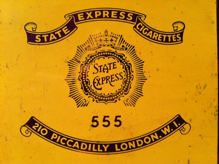 State Express Cigarettes  —555—