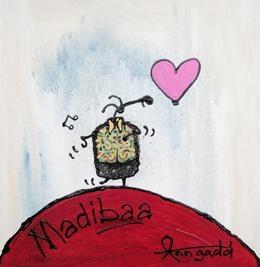Ann Gadd - Madibaa  Mixed Medium