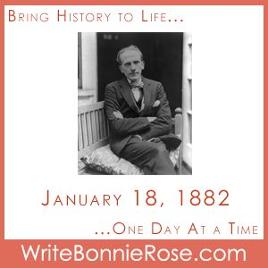 """FREE Timeline Worksheet: January 18, 1882, Birthday of A.A. Milne. What could Candy give her parents for their anniversary that was special enough to show them how much she cares but won't cost any money? And what does a book about a bear named Winnie the Pooh have to do with it? Find out as you read """"Candy's Gift,"""" today's short story for kids. - WriteBonnieRose.com"""