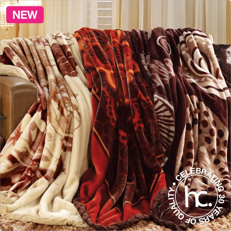 Shila 3-pc mink blanket combo from R175 p/m