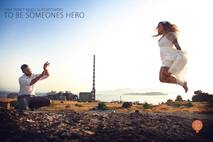You don't need superpowers to be someone's hero! Wedding in Athens, Greece. #wedding #photography