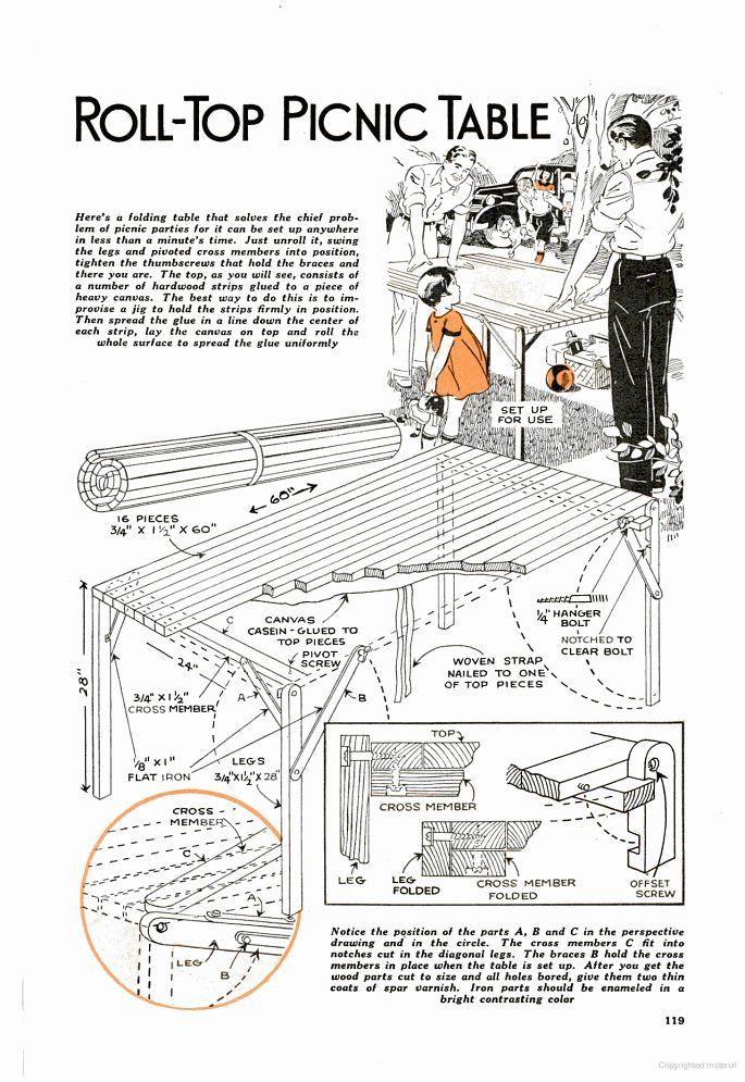 31 best popular mechanic magazine images on pinterest for Picnic boat plans
