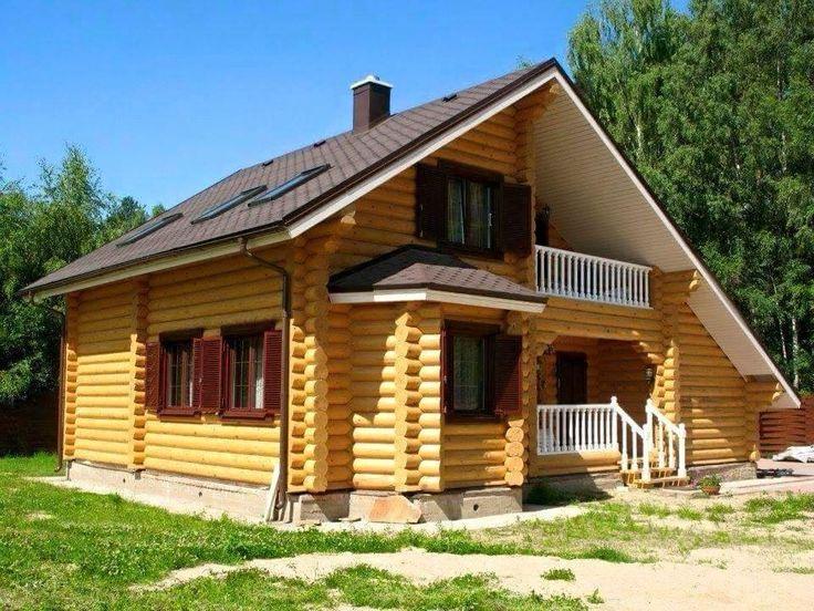 Kütük ev Log home