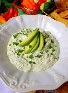 Avocado Jalapeño Cheese Dip