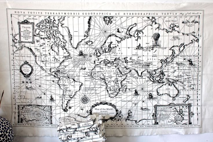 World Map Canvas by twomoonsandhannais on Etsy https://www.etsy.com/listing/235752158/world-map-canvas
