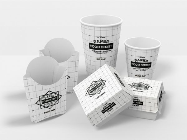 Download All Free Mockups Mockup World Food Box Packaging Food Packaging Fast Food