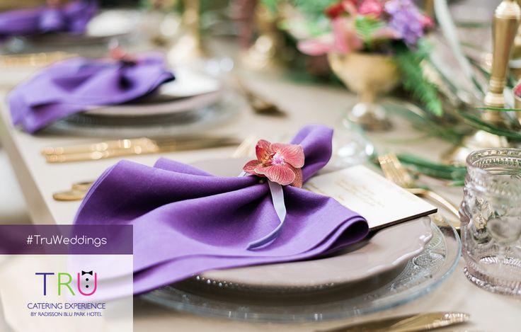 Για τη μεγαλύτερη ημέρα της ζωής σας, αξίζετε μια πραγματική εμπειρία catering για να είναι όλα στην εντέλεια. Εμπιστευτείτε μας για μια αληθινά αξέχαστη γαμήλια δεξίωση! www.trucatering.gr  #TruWedding