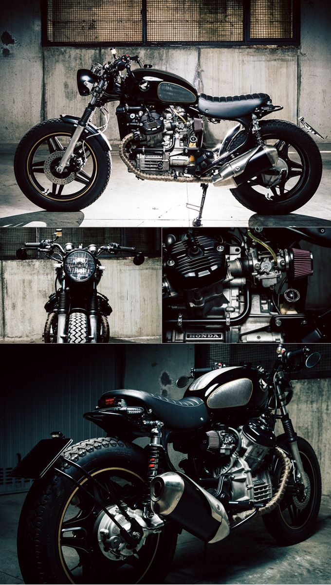 Tricked out version of my first street bike. Honda CX500 – Betty :: by M8 Design