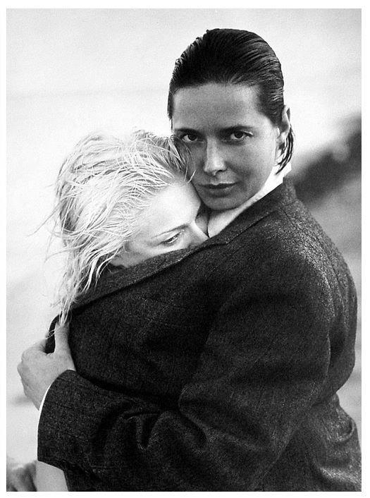Madonna & Isabella Rossellini
