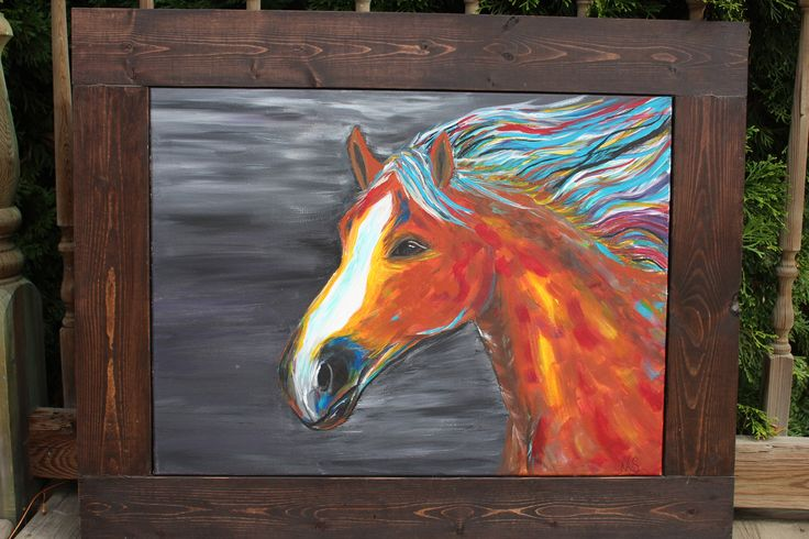 A personal favorite from my Etsy shop https://www.etsy.com/ca/listing/565000273/horse-acrylic