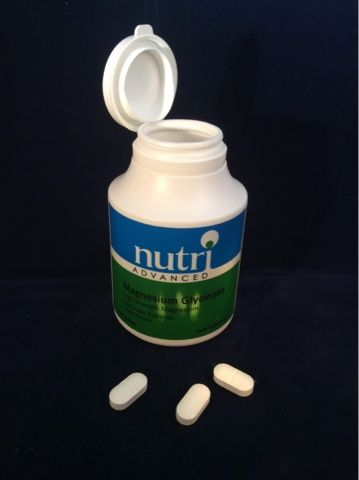Review - Nutri Advanced Magnesium Glycinate health supplement. These tablets really helped  my chronic fatigue, restless legs syndrome and reduced my headaches.