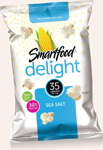 Enjoy Smartfood® Popcorn - Delightfully SMART, Unforgettably TASTY Popcorn!