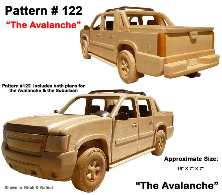 Wooden Trucks Toys And Joys : Wooden toy plans patterns models and woodworking