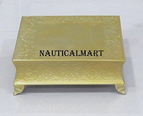 NauticalMart Beautiful Brass Golden Cake Stand -Wedding C... https://www.amazon.co.uk/dp/B0741355MF/ref=cm_sw_r_pi_dp_x_WvD6zb36CHWQF