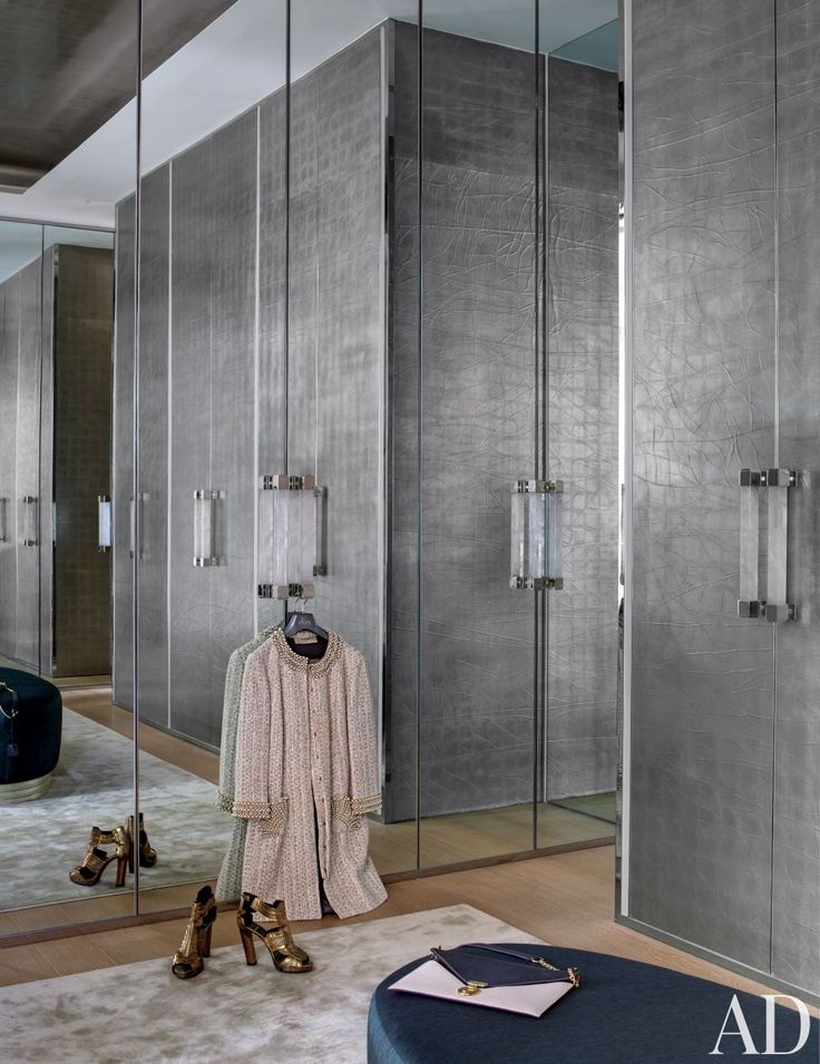 Gorgeous Contemporary Closet Design Ideas by Francis Sultana Ltd. and Thomas Croft Architects in London, England