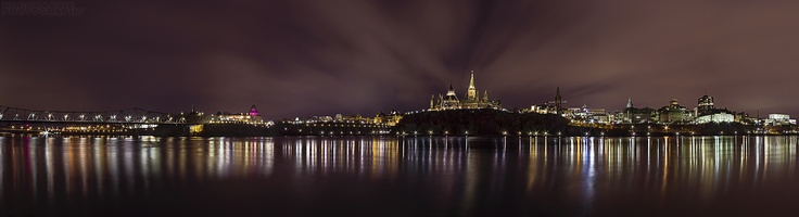 Ottawa skyline panorama