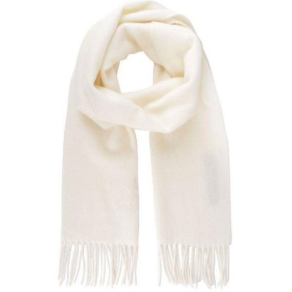 Vivienne Westwood Accessories Orb Tassel Scarf (535 HRK) ❤ liked on Polyvore featuring accessories, scarves, accessories - scarves, white, tassel scarves, white shawl, white scarves, vivienne westwood and wool shawl