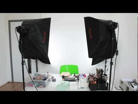 Very useful video about setting up lighting. Color My Closet TV is working on a video studio right now!