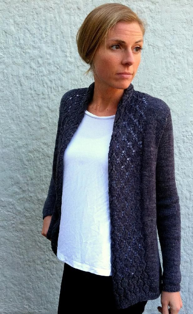 "Celebrate your favorite detective duo with the ""Watson"" cardigan by independent designer Amy Miller! """