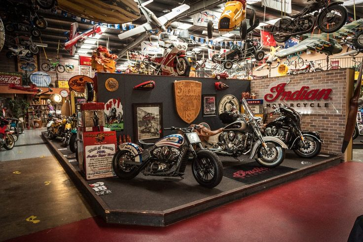 Antique Motorcycles: an Indian dealership with a big difference