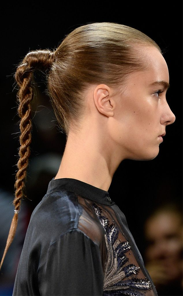 Full Plait from Hair Trends We Love From New York Fashion Week Spring 2016