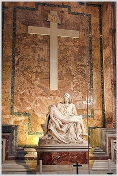 Michelangelo's Pieta- this is actually the most beautiful peice of…