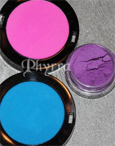 Glitter and Neons in Cosmetics - Unsafe Ingredients - What to avoid.