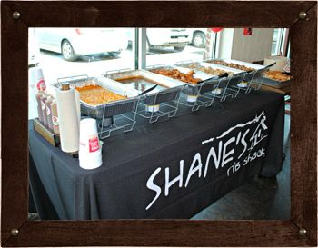 Catering Menu | Ribs Restaurant and Affordable Catering | Shane's Rib Shack