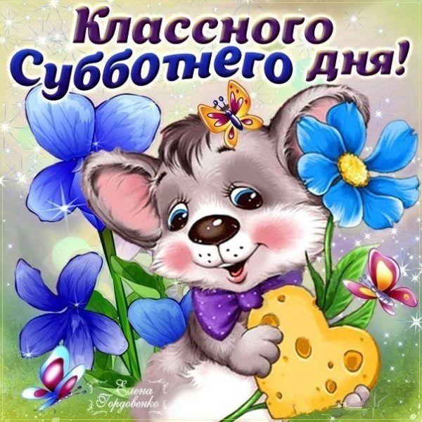 Анимационные открытки удачной субботы виктория регия