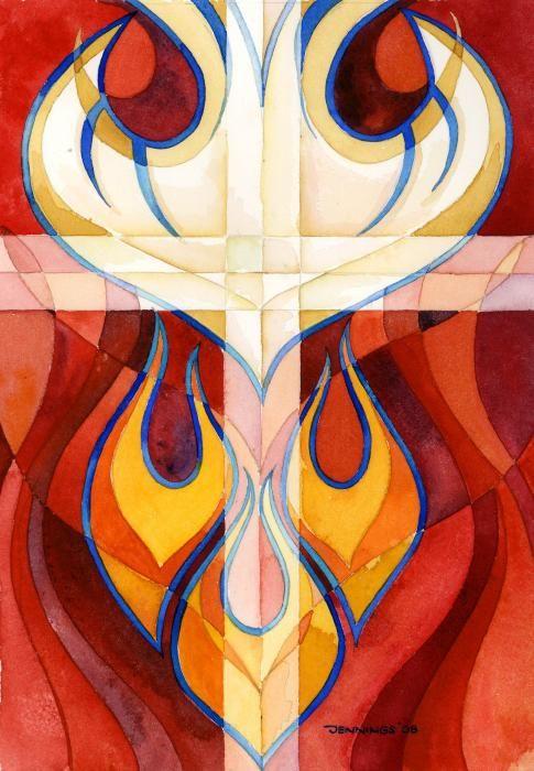 Holy Spirit Greeting Card