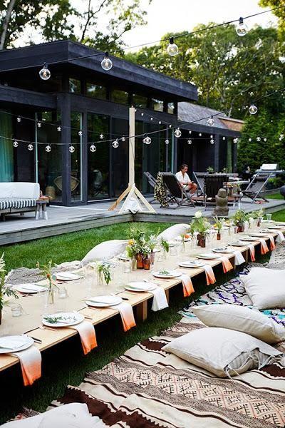 Tutorial decoración summer dinner party | Decorar tu casa es facilisimo.com