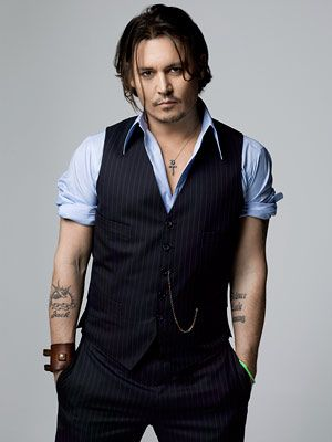 Johnny Depp--so, he's a smoker....I still wouldn't turn down a date with him, that's for sure.