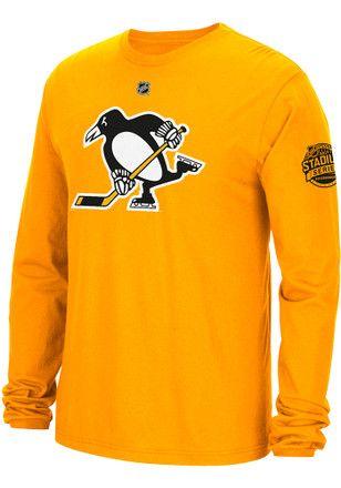 50% OFF | Reebok Pitt Penguins Mens Gold Replica Tee