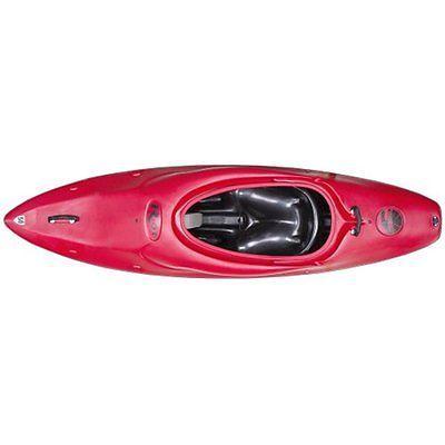 Fishing Kayaks Riot Kayaks Boogie Whitewater Surf Kayak (Red, 7-Feet 9-Inch)
