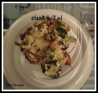 Broccoli-prei ovenschotel - Slank4u2