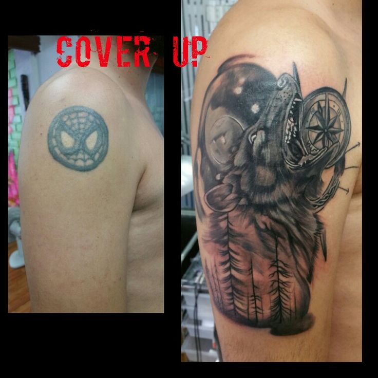 #Coverup #aneybarrientos #lobotattoo