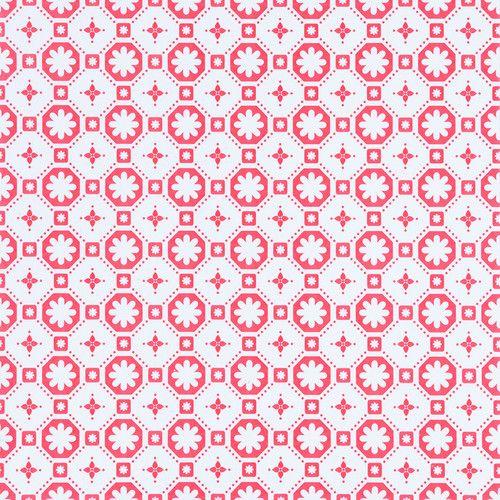 PVC self-stick floor tiles Compass Rose; aroundthewall.com
