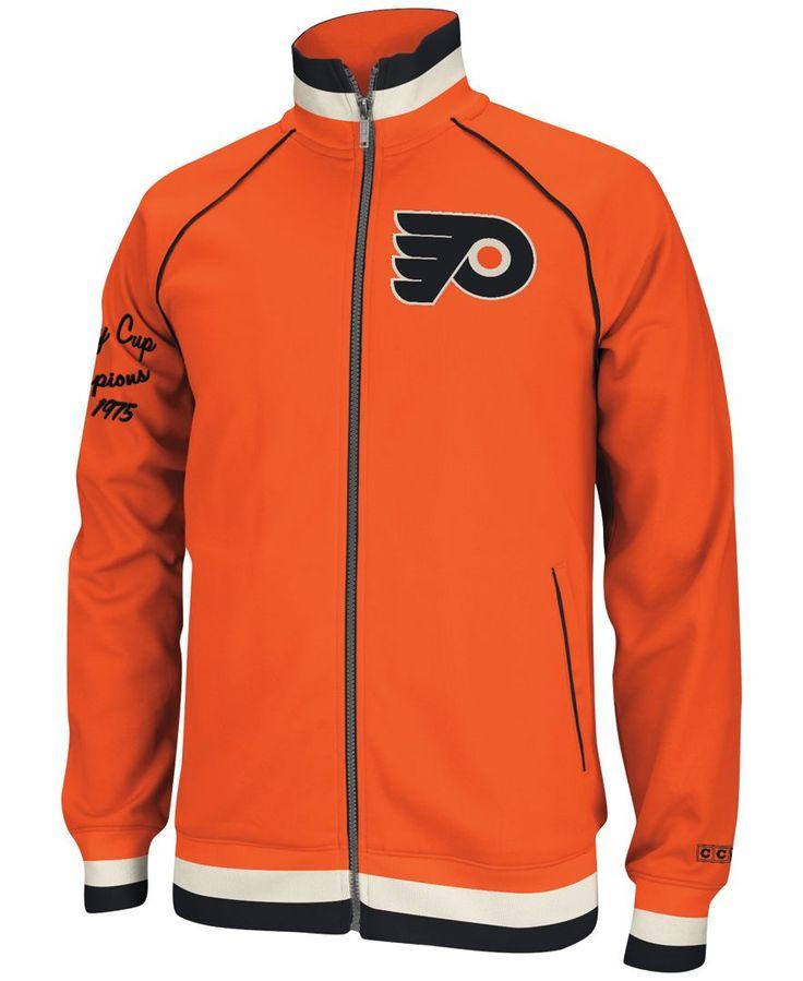 Ccm Men's Philadelphia Flyers Track Jacket