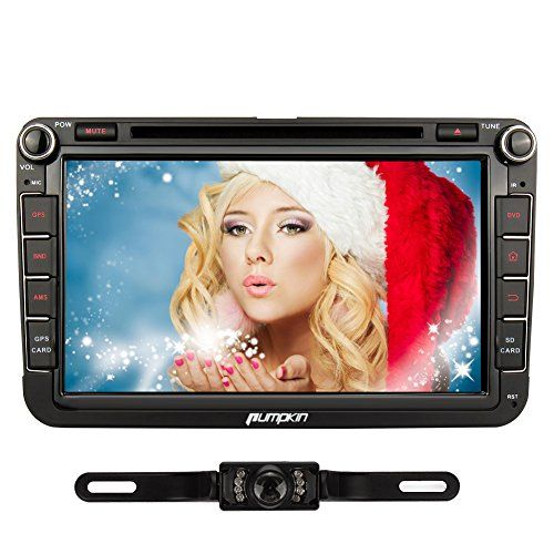 Special Offers - Pumpkin 8 inch Quad Core Android 4.4 Double Din In Dash Car Radio DVD Player HD Capacitive Touch Screen GPS Navigation with Backup Camera for Jetta 2010-2014 / Golf estate 2009-2012 - In stock & Free Shipping. You can save more money! Check It (July 07 2016 at 08:30AM) >> http://cargpsusa.net/pumpkin-8-inch-quad-core-android-4-4-double-din-in-dash-car-radio-dvd-player-hd-capacitive-touch-screen-gps-navigation-with-backup-camera-for-jetta-2010-2014-golf-estate-2009-2012/