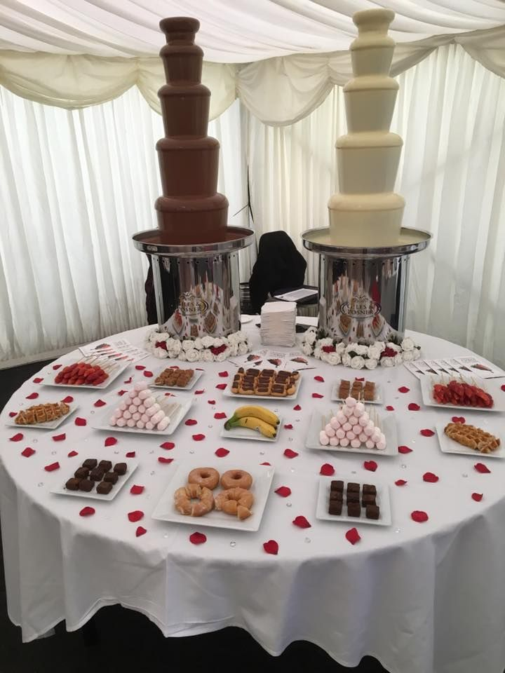 A Heavenly Melted Chocolate special offer on chocolate Fountain Hire exclusive to our Chester Wedding Fayre this Sunday!