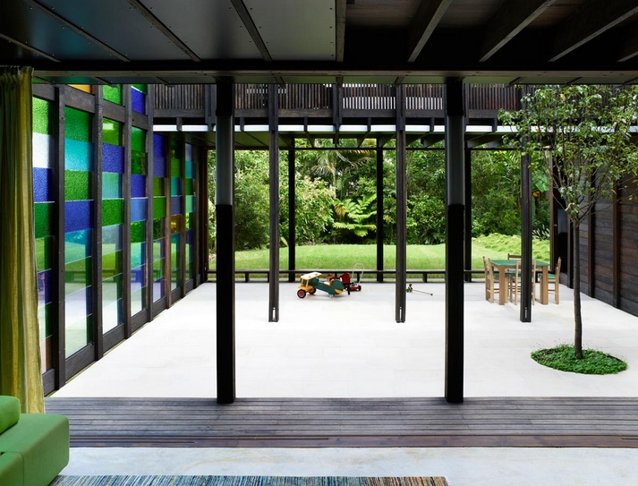 James Russell Architects #courtyard