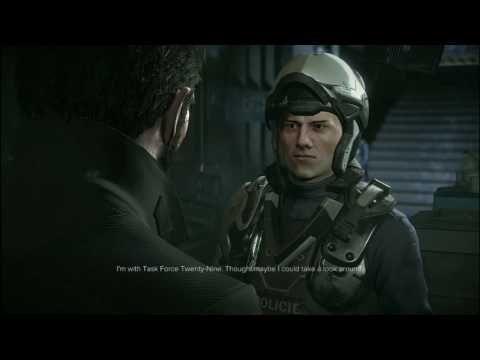 Deus Ex Mankind Divided Ep. 8: Grabbing The Scan