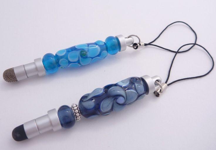 Stylus Mini featuring lampwork glass beads by ChrysArtGlass on Etsy