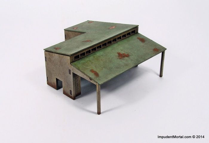 Impudent Mortal's 28mm & 15mm Industrial Tabletop Terrain by Walt Langhans — Kickstarter