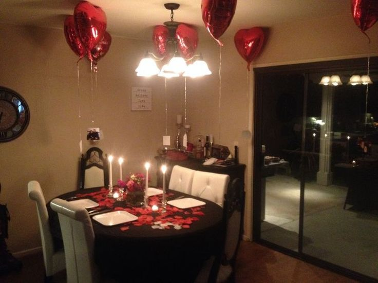 Pin de brenda medina en gift ideas pinterest cena - Sorpresas romanticas en casa ...