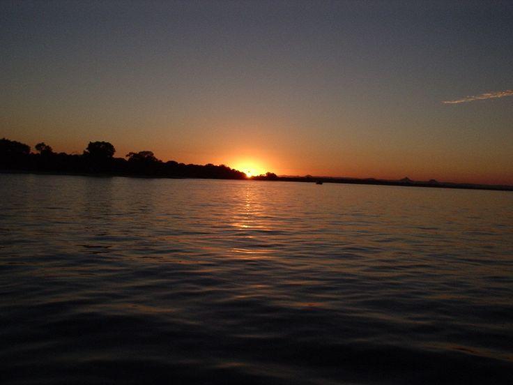 Bribe island sunset