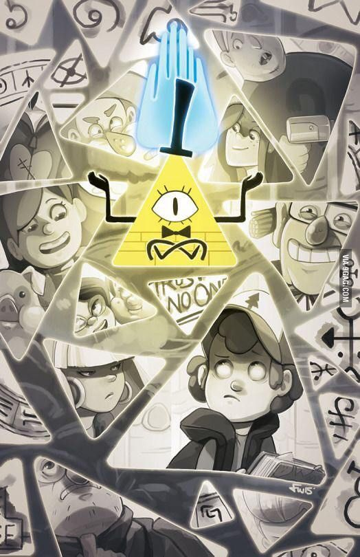Beware of the triangle (Animation: Gravity Falls)